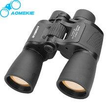 AOMEKIE 7X50 Military Binoculars HD FMC Lens Optical Glasses Prism High Power Travelling Camping Hunting Telescope Bird Watching