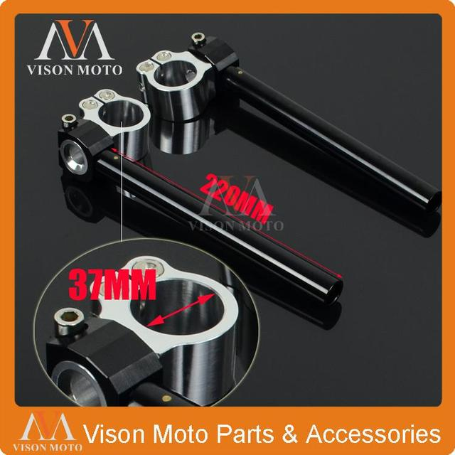 Universal Billet 37MM Adjustable handlebars Handle Bars Clipons Clip On Ons For Suzuki GS500 GS500E GS500F All 91-01