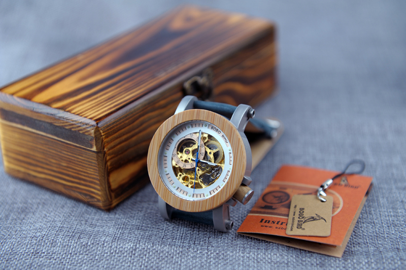 wood watches men bobo bird wristwatches