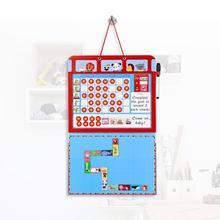 Магнитная диаграмма, календарь, время, игрушки, обучающая магнитная награда, игрушка, запись, доска для детей