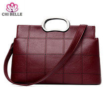 Lady handbag new European and American classic large capacity and PU handbag shoulder his hand bag undertakes to female bag gete new crocodile handbag fashion luxury european and american leather handbag bag socialite high capacity female bag