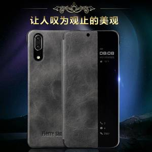 Image 5 - Case For Hawei Mate10 P20 Pro Smart View Luxury Leather Funda Etui Phone Cover accessories shell Coque with Sleep Wake Up Window