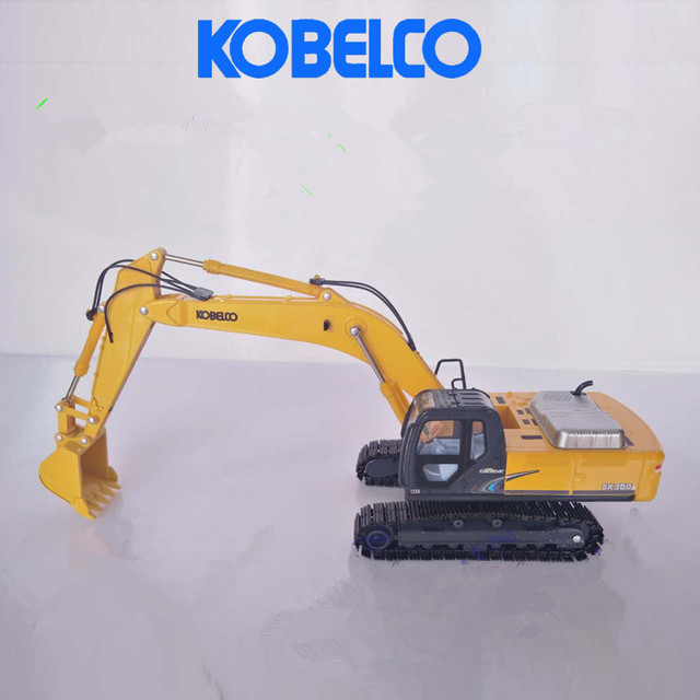 US $85 0 |Diecast Toy Model Gift 1:43 Kobelco SK350LC 8 Hydraulic Excavator  Engineering Machinery Toy for Collection,Decoration-in Diecasts & Toy
