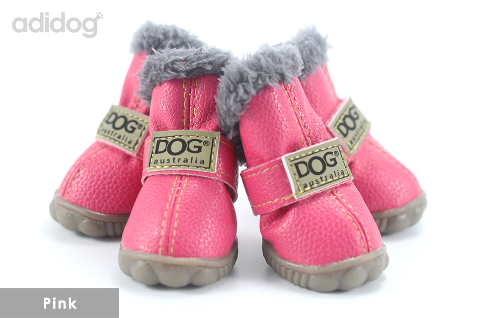 Pet Dog Shoes Winter Super Warm 4pcs set Dogs Boots Cotton Anti Slip XS 2XL Shoes for Small Pet Product ChiHuaHua Waterproof 402
