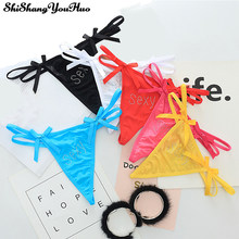 b1d187fe8 Underwear Women Sexy Panties Heart Thongs and G String Seamless Lingerie  Bow Low-rise Brief Tangas Calcinha ZM210