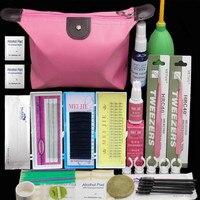 Professiona Eyelashes Extension Curler Kit False EyeLash Lashes Makeup Set Fashion Eyelash Extension Kit Portable Makeup