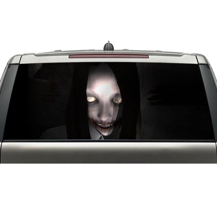 ᗑ】Diseño fresco coche pegatinas para ventanas ver a través vinilo ...