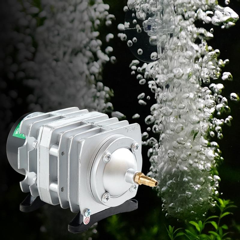 Compresseur d'air électromagnétique 220 V Portable réservoir de poisson Koi bulle Aquarium pompe à Air étang aérateur 25 W/30 W/35 W/45 W