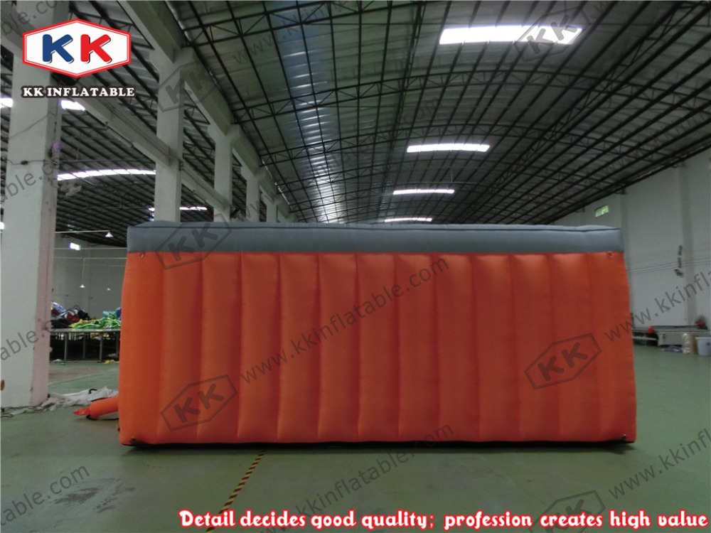 House Inflatable fire escape inflatable tent , inflatable tent fire drill simulated smoke room