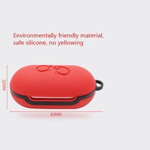 Image 5 - Samsung Galaxy tomurcukları kılıf Bluetooth kulaklık kılıfı toz geçirmez koruyucu silikon kapak Samsung tomurcukları 2020 çantası darbeye dayanıklı
