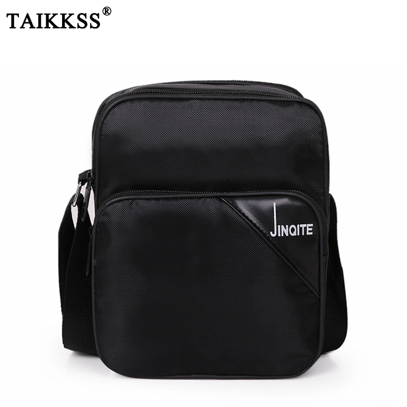 2017 fashion Men's shoulder bags Casual Messenger Bags Waterproof High Quality Oxford Zipper Bag Crossbody For Male DropShipping fashion casual large capacity handbag for men shoulder bags male waterproof oxford fabric bussiness bag mochila high quality