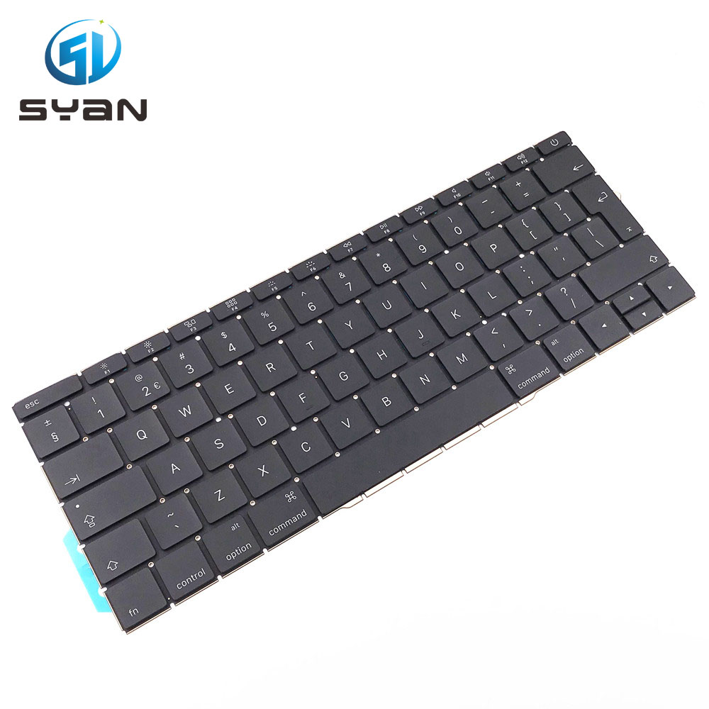 A1708 keyboard for Macbook pro retina laptop keyboards 2016 2017 MLL42 MPXQ2 image