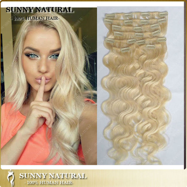 African american clip in human hair extensions blond body wave african american clip in human hair extensions blond body wave brazilian full head clip in hair pmusecretfo Choice Image