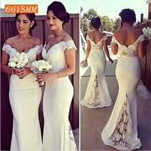 Stylish Mermaid Bridesmaid Dresses Long 2019 Wedding Party Gown Sweeth