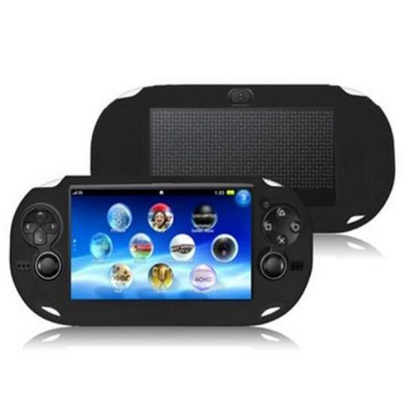 TPU Silicone gel Soft Protective Cover Shell for <font><b>Sony</b></font> PlayStation Psvita <font><b>PS</b></font> <font><b>Vita</b></font> PSV 1000 <font><b>Console</b></font> Body Protector Skin Case image