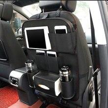 Портативный заднем сиденье автомобиля Организатор сумка для хранения Универсальный многофункциональный Средства ухода для автомобиля карманов Салонные аксессуары автомобиль-Стайлинг