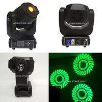 Bühne spot licht led beleuchtung moving head 90 watt powercon moving head gobo lyres dmx led moving-in Bühnen-Lichteffekt aus Licht & Beleuchtung bei