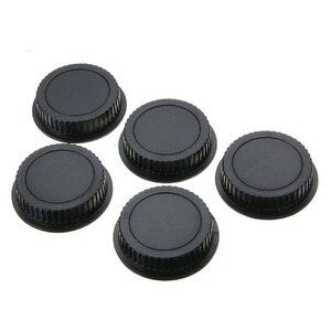 Image 2 - 5 Pcs Rear Lens Cap Dust Cover for EF ES S Series Camera Lens Holder Cap Cover Camera Len Cover Protector  Lens Accessories