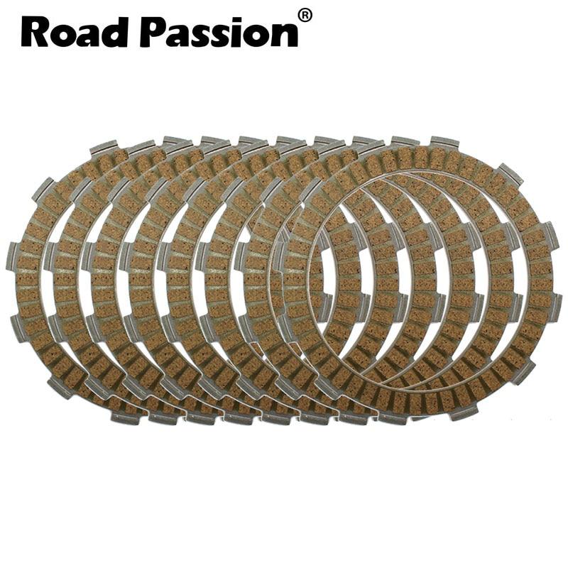 Road Passion 8pcs Motorcycle Clutch Friction Plates Kit For SUZUKI DR650SE DR650 DR 650 SE 1996 2014 DR750S DR750 750 S 1988