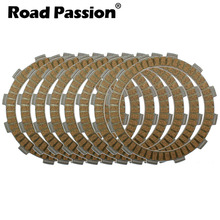 Road Passion 8pcs Motorcycle Clutch Friction Plates Kit For SUZUKI DR650SE DR650 DR 650 SE 1996-2014 DR750S DR750 750 S 1988