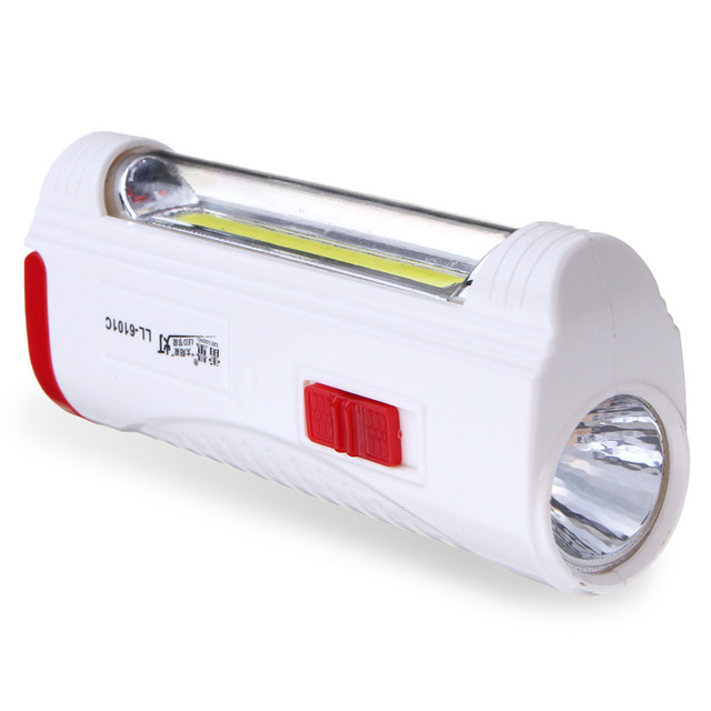 Multi Charge Portable Solar Mobile Flashlight