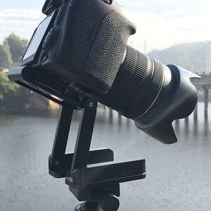 Image 4 - Camera Flex Tripod Z Pan Tilt Ballhead Aluminum Folding Tripod Bracket Ball Head Solution Universal for Canon/Nikon for iPhone