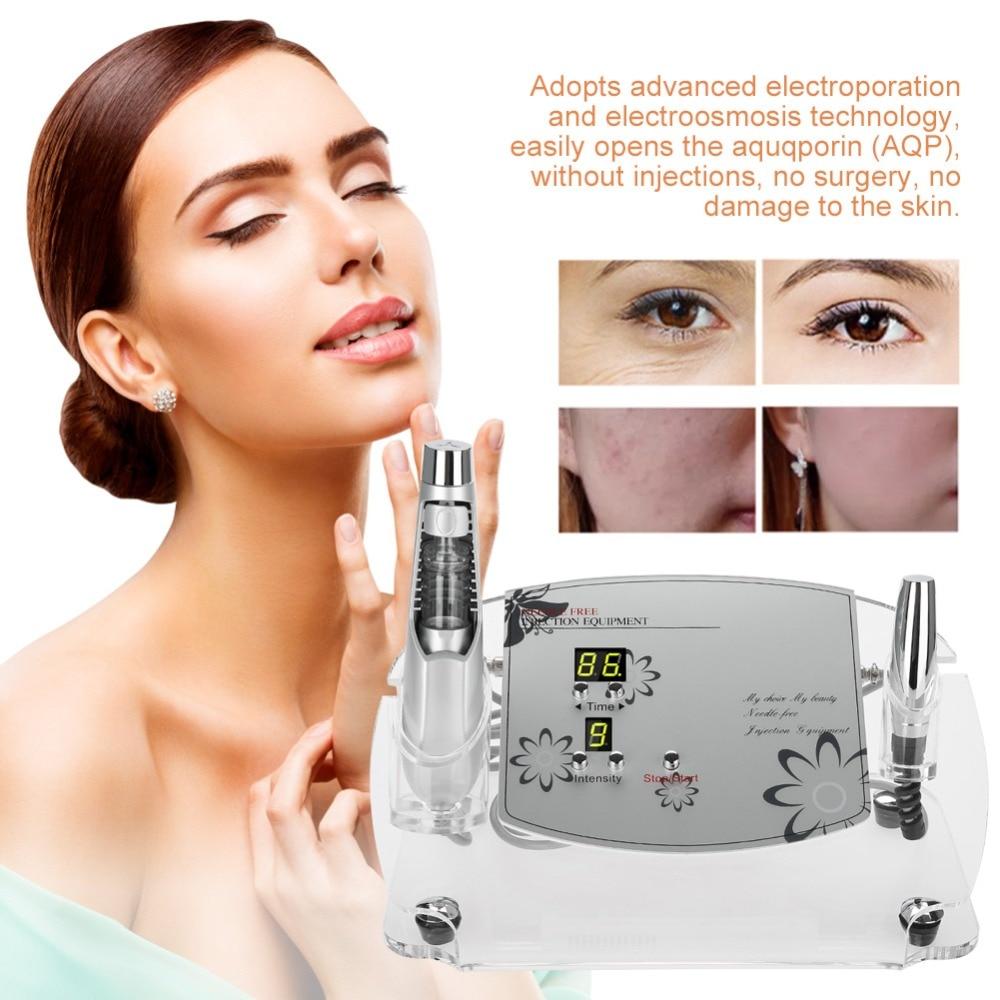 Needle free Ultrasound Beauty Machine Wrinkle Removal Skin Rejuvenation Whitening Moisturizing Beauty Machine Facial Skin Care