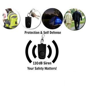 Image 2 - Alarm 130dB Safe Sound Emergency Attack Self defense Keychain Personal Alarm Anti rape Device