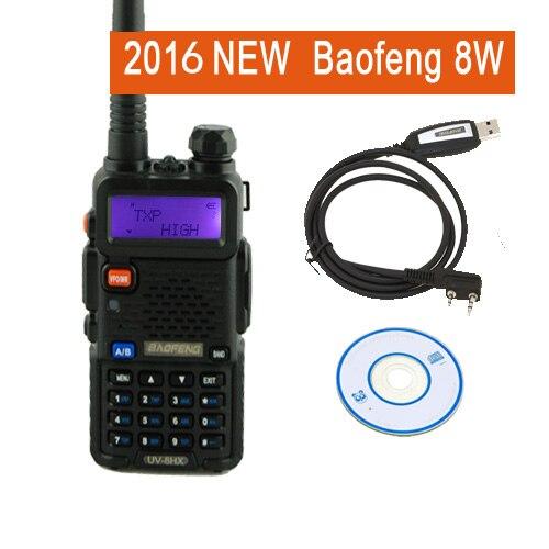 portable radio sets uv 5r 8W baofeng 8HX amateur radio sister walkie talkie radio vertex baofeng