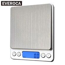 Цифровые кухонные весы 1000g/0,1g Переносные электронные весы Карманный ЖК-дисплей точность ювелирной шкалы Вес баланс кухни