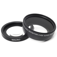 0.45x37mm 43mm 46mm 49mm 52mm Wide Angle Macro Lens Wide-Angle Camera Lens For Canon EOS Nikon Sony Lens Accessories