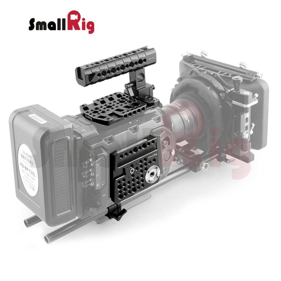 SmallRig 1//4 Thread Rosette Side Plate Bracket for Blackmagic URSA Mini Camera