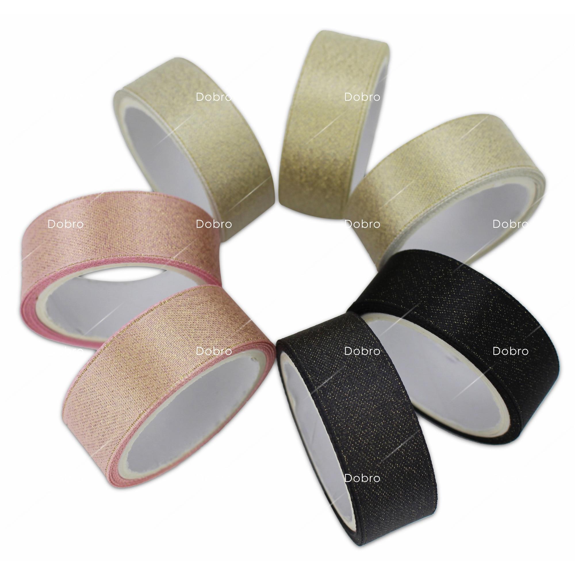 35 Colors Gold Purl Satin Ribbon 3 6 9 16 22 38mm - Өнер, қолөнер және тігін - фото 3