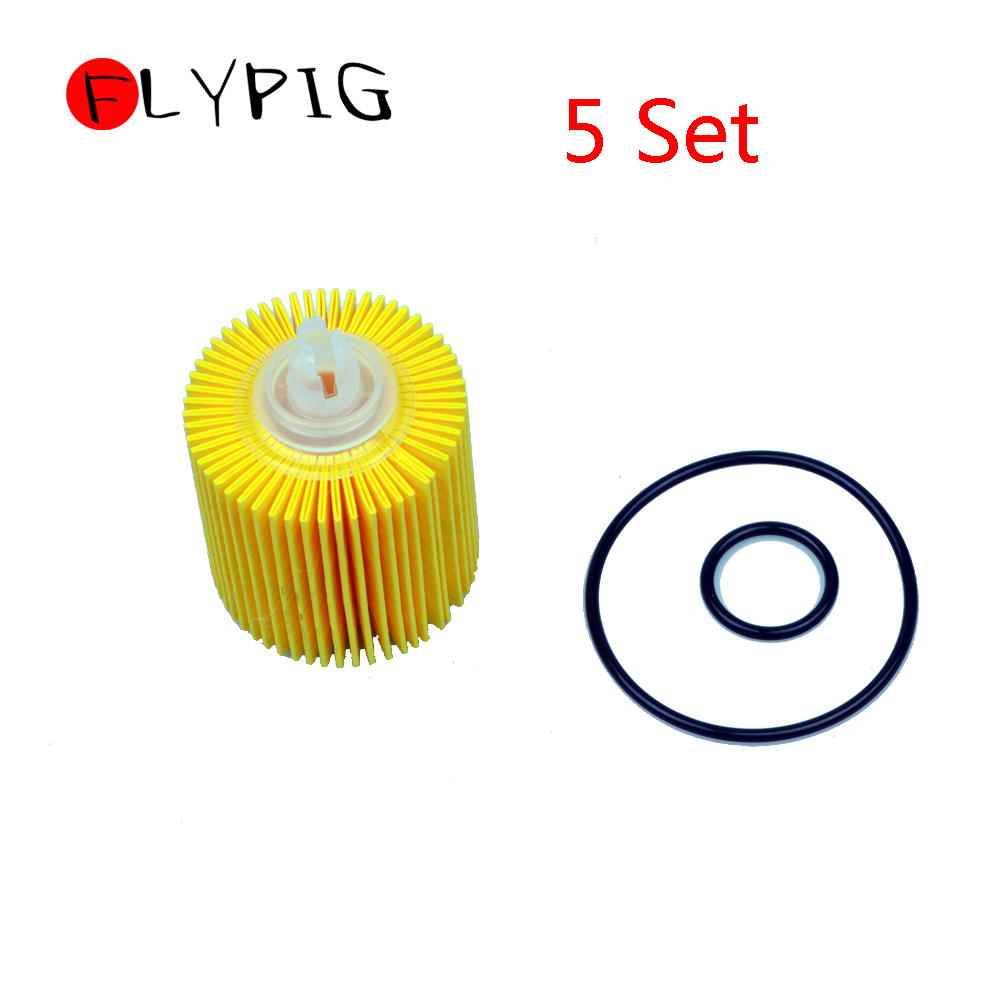 5pcs/lot Oil Filter 04152-YZZA6 For Toyota COROLLA MATRIX PRIUS For Scion xD For LEXUS @20