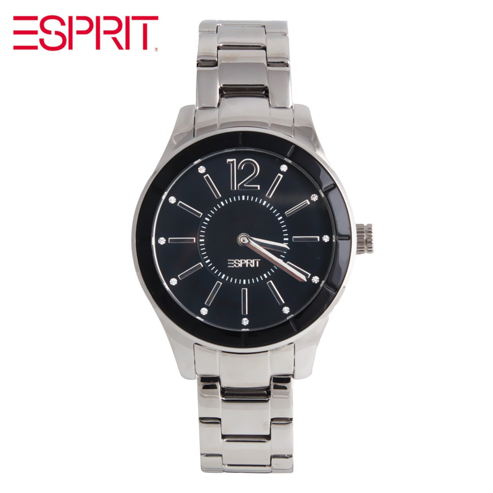 ESPRIT ladies fashion all-match Black Dial Watch ES105712004 все цены