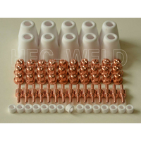 FREE SHIPPING LG 40 PT 31 Air Plasma Cutter Cutting Torch Consumables Plasma Nozzle TIPs Fit