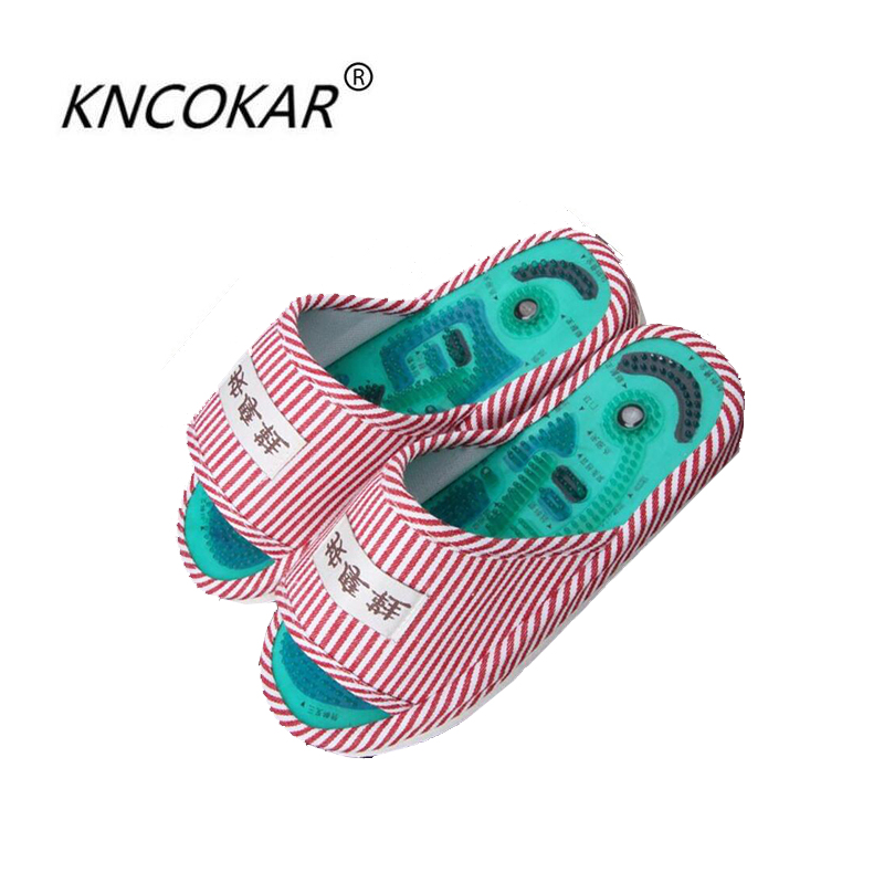 The new fashion Ms slippers Acupoint massage slippers foot massage shoes home women slippers indoor slipper summer foot shoes