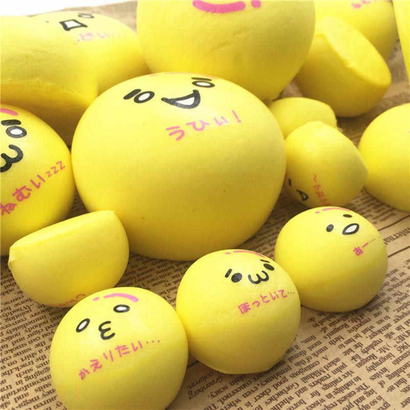Мягкая игрушка-антистресс, желтая булочка, ароматизированный медленно поднимающийся игрушки для детей 0815
