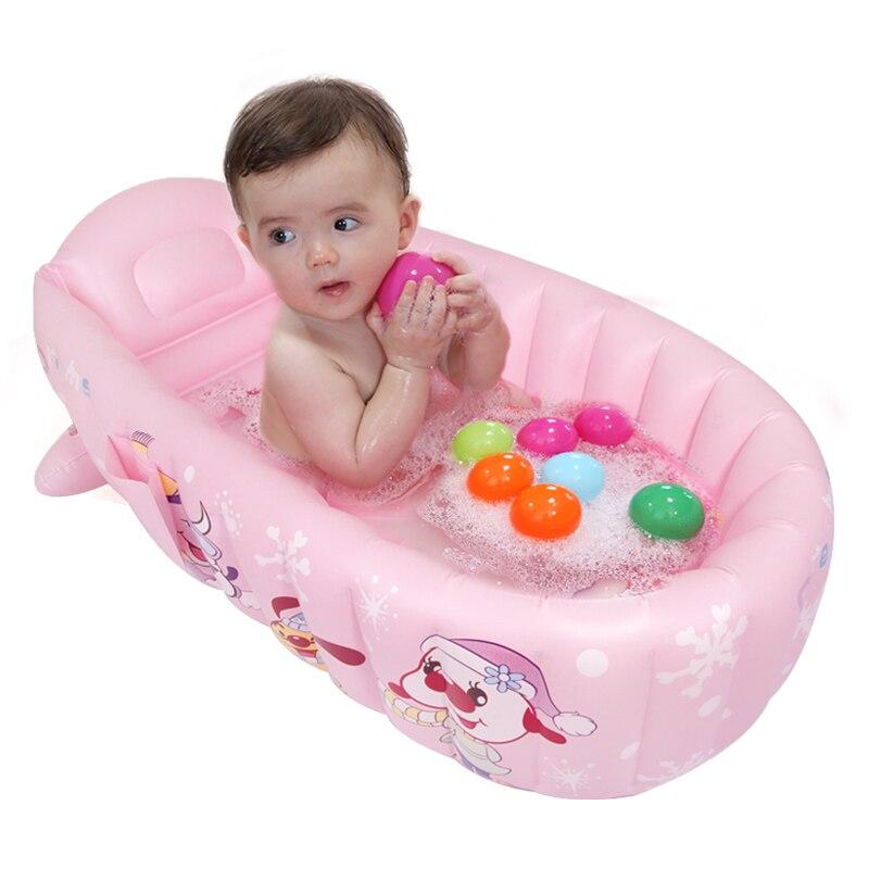 Grande baignoire gonflable bébé enfant en bas âge enfant en bas âge jeu d'eau piscine pliante écologique piscines en PVC