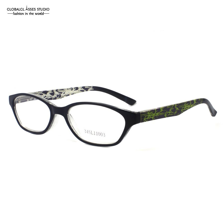 lastnew design style very unique black and crystal fashion classic kids eyewear glasses optical eyeglasses frame
