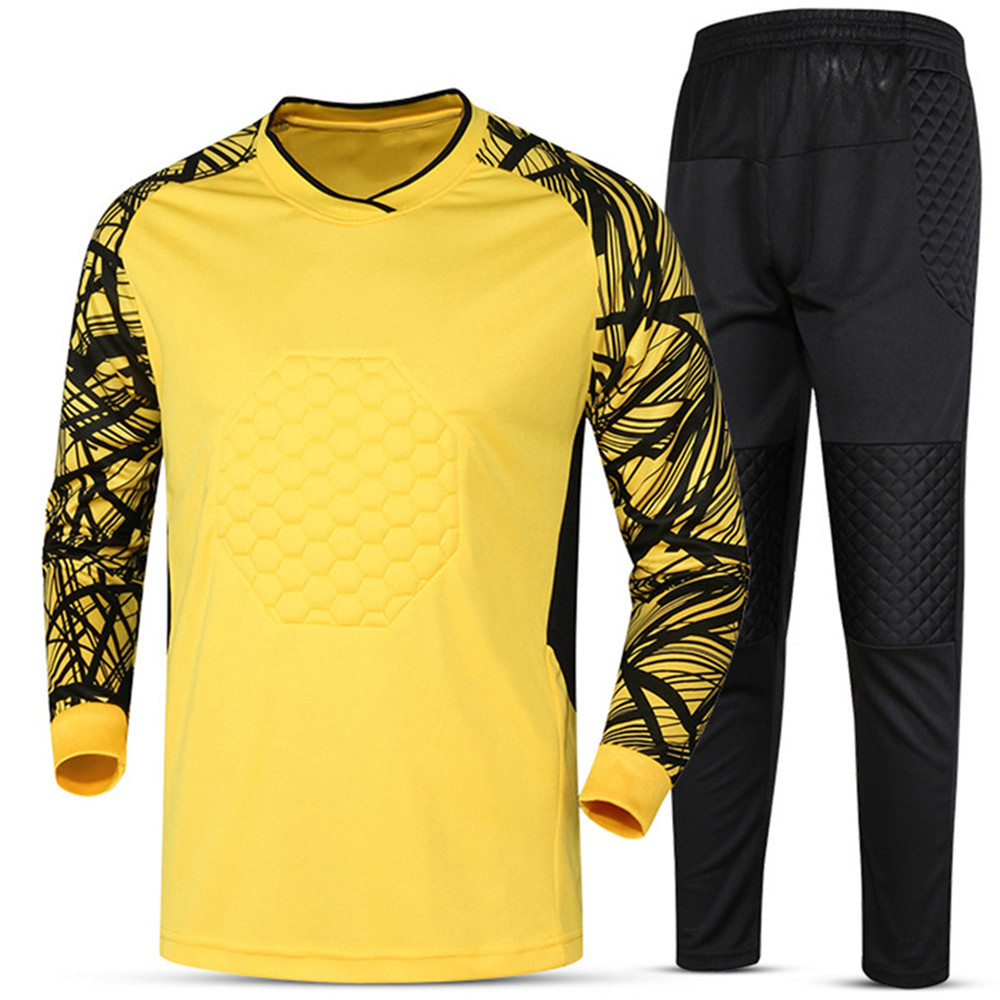 79cd0b59739 Soccer sets goalkeeper jerseys men football Survetement tracksuit goal  keeper uniforms goalie sports training pants DIY Custom-in Soccer Sets from  Sports ...