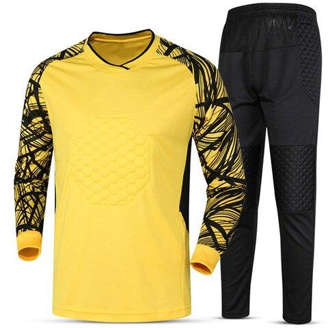 Soccer sets goalkeeper jerseys men football Survetement tracksuit goal keeper uniforms goalie sports training pants DIY Custom Multan