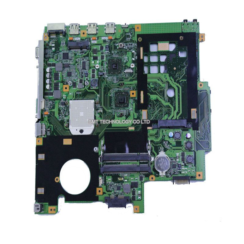 Free shipping Origina laptop board For Asus X50Z motherboard F5Z system motherboard fully tested working 100% working laptop motherboard for acer q5wv1 la 7912p hm70 sjtnv system board fully tested