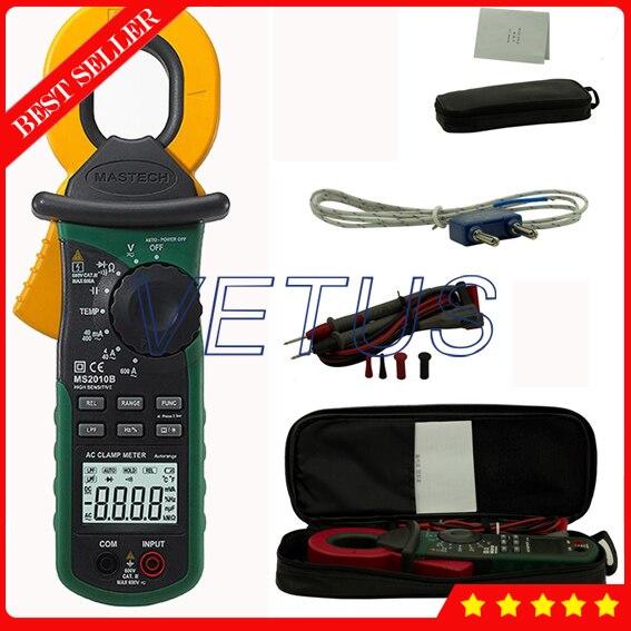 Mastech MS2010B High Sensitivity Digital AC Leakage Clamp Meter