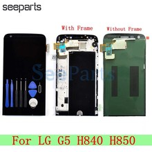New-Display Touch-Screen Pantalla Frame Digitizer Replacement LG for H840/H850/G5 Assembly