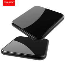 SIKAI 10 W Qi Беспроводной Зарядное устройство для iPhone X 8 samsung Примечание 8 S8 плюс S7 S6 края телефон быстро Беспроводной зарядки док-станции