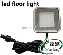 buy 10pcs/lot Free Shpping DC12v Ultrathin LED Floor Lamp Recessed Step Light Outdoor Garden Inground Stair Lighting Square,image LED lamps offers