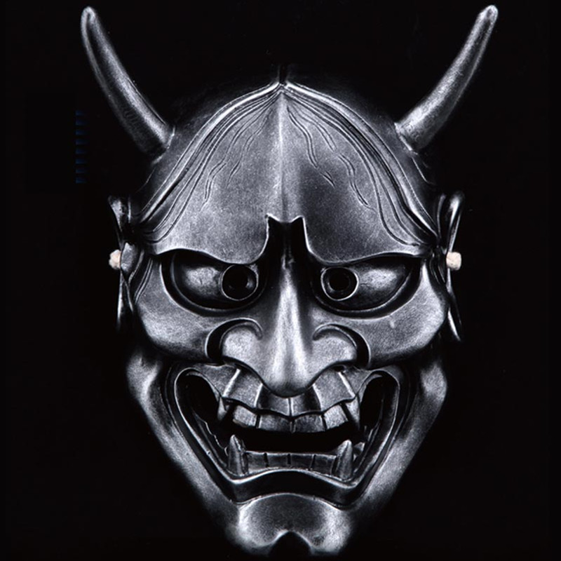 Тегін жеткізу Resin Hannya Mask Carnival Halloween - Костюмдер - фото 4