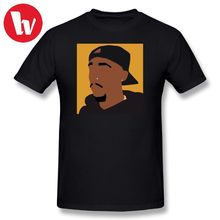 Tupac 2 Pac T Shirt - Orange 2pac T-Shirt Men Cartoon Print Basic Shirts Summer Short Sleeve Classic Fun Tee Plus Size