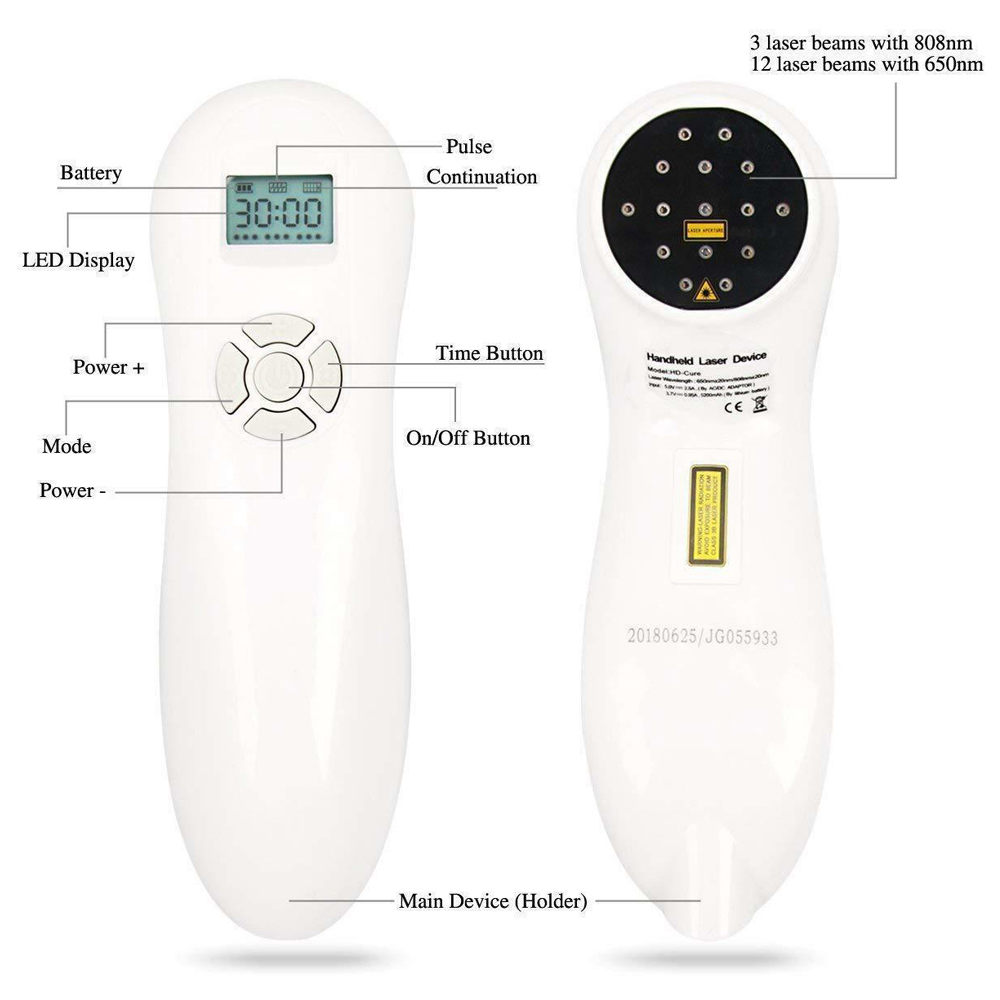 Hot Selling Dog and Horse Cat Animals Pain Relief LLLT Therapy Device By 808nm 650nm Safety Cold Laser Machine in Massage Relaxation from Beauty Health